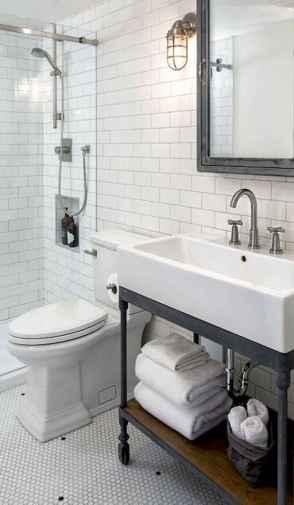 110 Fabulous Farmhouse Bathroom Decor Ideas (103)