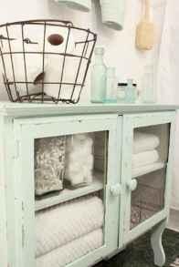 110 Fabulous Farmhouse Bathroom Decor Ideas (110)