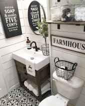110 Fabulous Farmhouse Bathroom Decor Ideas (21)