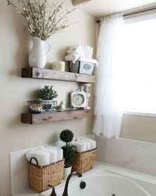 110 Fabulous Farmhouse Bathroom Decor Ideas (46)