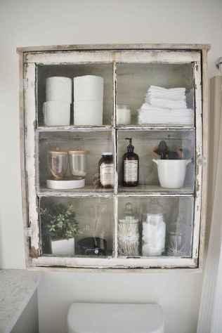 110 Fabulous Farmhouse Bathroom Decor Ideas (51)