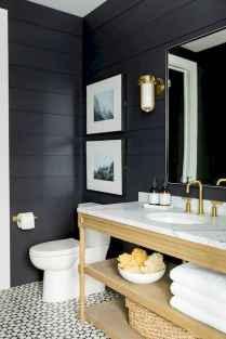 110 Fabulous Farmhouse Bathroom Decor Ideas (6)