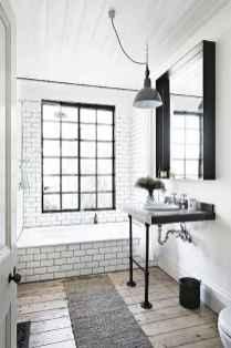 110 Fabulous Farmhouse Bathroom Decor Ideas (70)