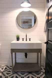110 Fabulous Farmhouse Bathroom Decor Ideas (72)
