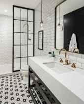 110 Fabulous Farmhouse Bathroom Decor Ideas (82)