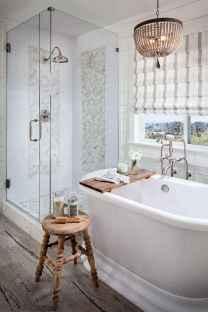 110 Fabulous Farmhouse Bathroom Decor Ideas (96)