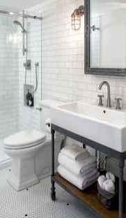 50 Amazing Farmhouse Bathroom Vanity Decor Ideas (110)