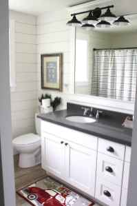 50 Amazing Farmhouse Bathroom Vanity Decor Ideas (12)