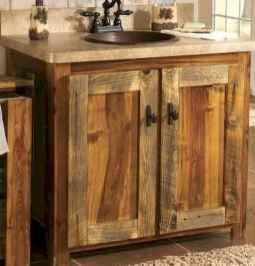 50 Amazing Farmhouse Bathroom Vanity Decor Ideas (123)