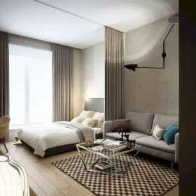 65 Brilliant Studio Apartment Decorating Ideas (22)