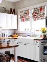 70 Pretty Farmhouse Kitchen Curtains Decor Ideas (14)