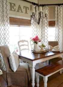70 Pretty Farmhouse Kitchen Curtains Decor Ideas (31)