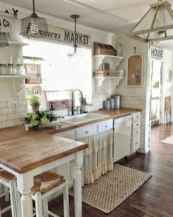70 Pretty Farmhouse Kitchen Curtains Decor Ideas (41)
