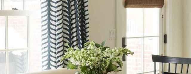 70 Pretty Farmhouse Kitchen Curtains Decor Ideas (54)