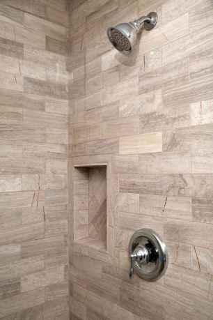 80 Cool Farmhouse Tile Shower Ideas Remodel (13)