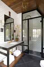 80 Cool Farmhouse Tile Shower Ideas Remodel (35)