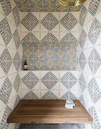 80 Cool Farmhouse Tile Shower Ideas Remodel (79)