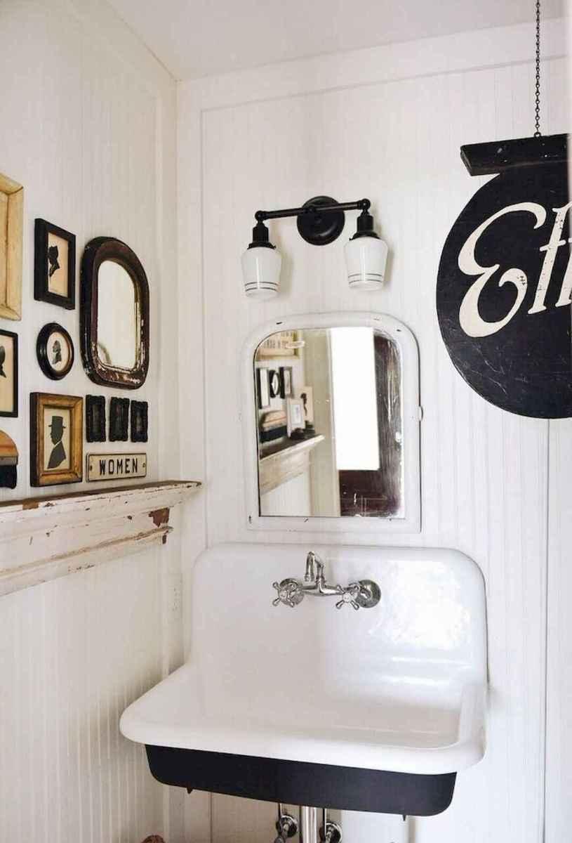 90 Awesome Lamp For Farmhouse Bathroom Lighting Ideas (103)
