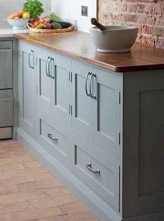 90 Best Farmhouse Kitchen Cabinet Design Ideas (20)