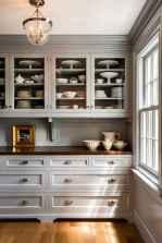 90 Best Farmhouse Kitchen Cabinet Design Ideas (25)