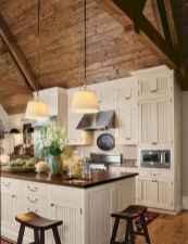 90 Best Farmhouse Kitchen Cabinet Design Ideas (29)