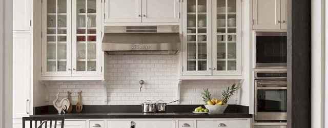 90 Best Farmhouse Kitchen Cabinet Design Ideas (77)