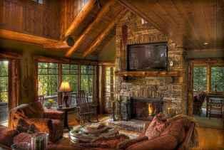 25 Cabin Living Room Ideas Decor (11)