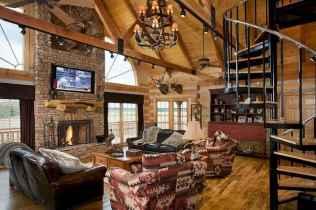 25 Cabin Living Room Ideas Decor (13)
