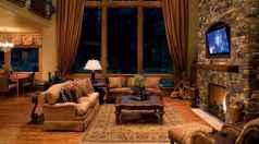 25 Cabin Living Room Ideas Decor (18)