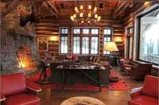 25 Cabin Living Room Ideas Decor (3)