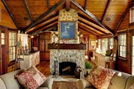 25 Cabin Living Room Ideas Decor (5)