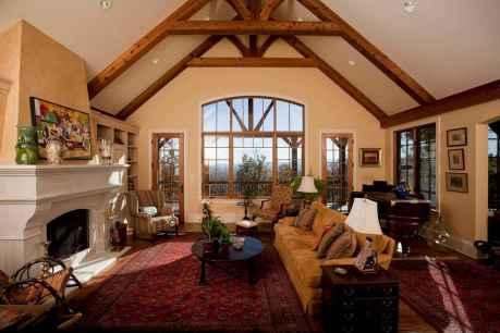 25 Cabin Living Room Ideas Decor (9)