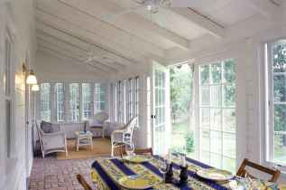 35 Best Farmhouse Sunroom Decor Ideas and Remodel (14)