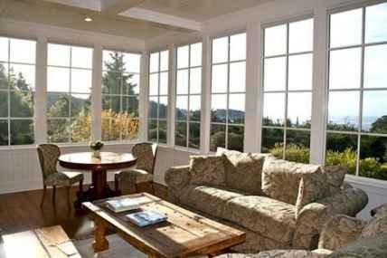 35 Best Farmhouse Sunroom Decor Ideas and Remodel (17)