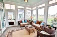 35 Best Farmhouse Sunroom Decor Ideas and Remodel (18)