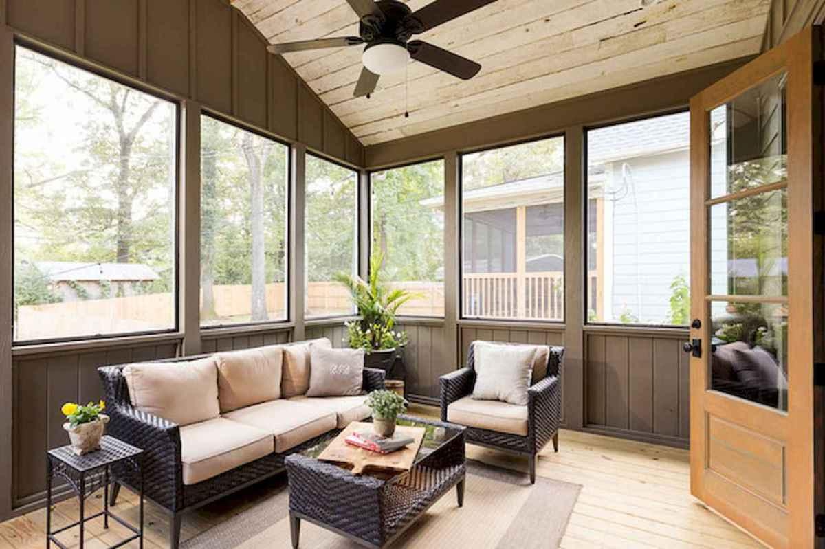 35 Best Farmhouse Sunroom Decor Ideas and Remodel (24)