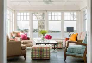 35 Best Farmhouse Sunroom Decor Ideas and Remodel (31)