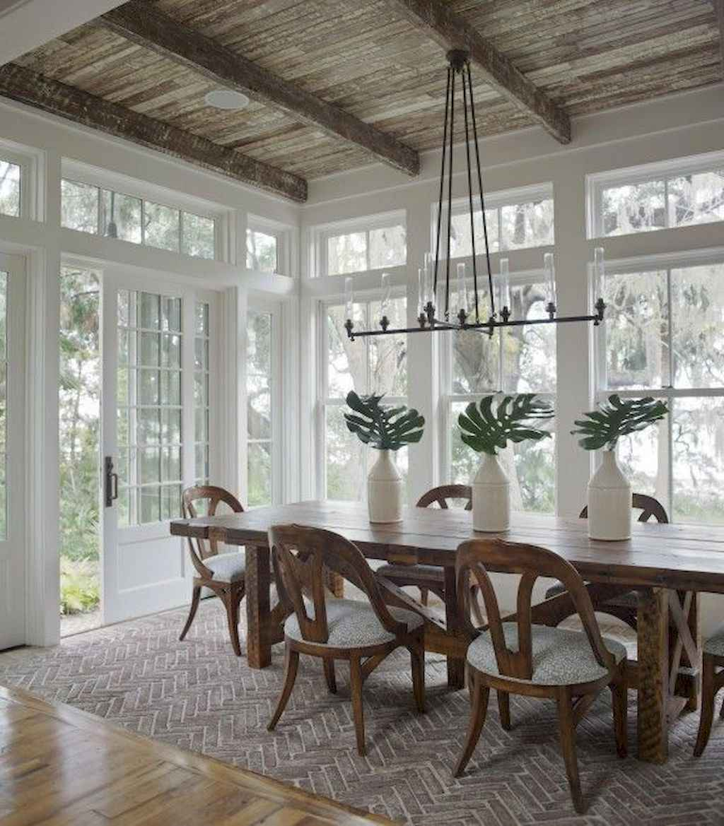 35 Best Farmhouse Sunroom Decor Ideas and Remodel (4)
