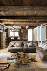 35 Chalet Living Room Decor Ideas (10)