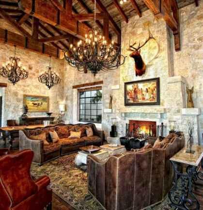 35 Chalet Living Room Decor Ideas (13)