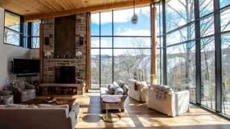 35 Chalet Living Room Decor Ideas (28)