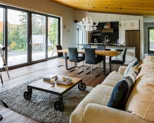 35 Chalet Living Room Decor Ideas (6)