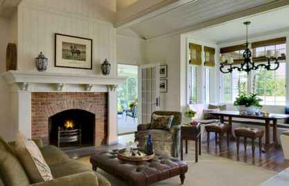 40 Awesome Farmhouse Fireplace Decor Ideas And Remodel