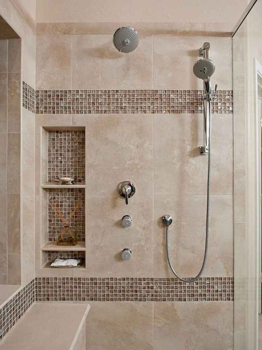 40 Beautiful Bathroom Shower Tile Design Ideas and Makeover (12)