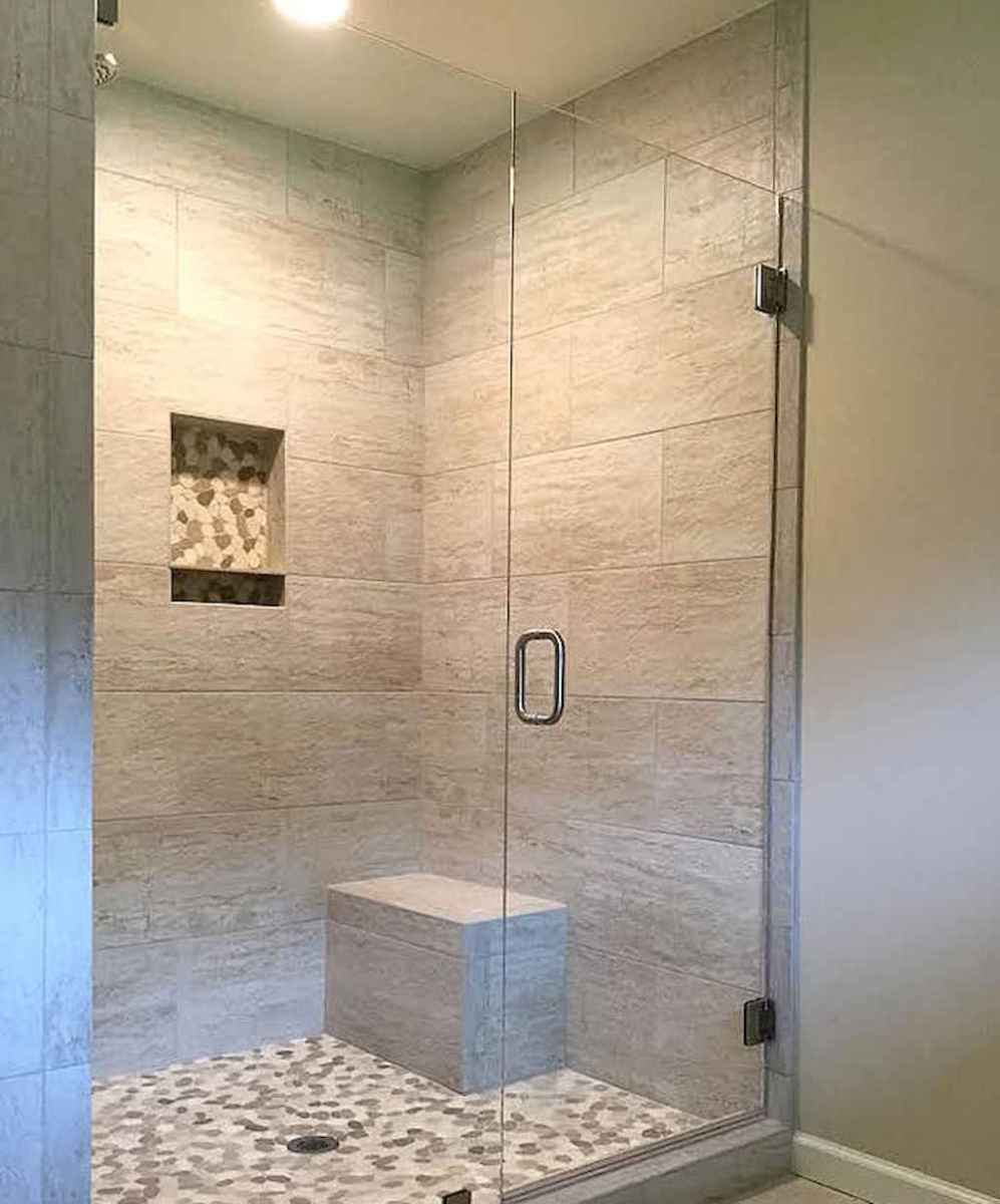 40 Beautiful Bathroom Shower Tile Design Ideas and Makeover (14)