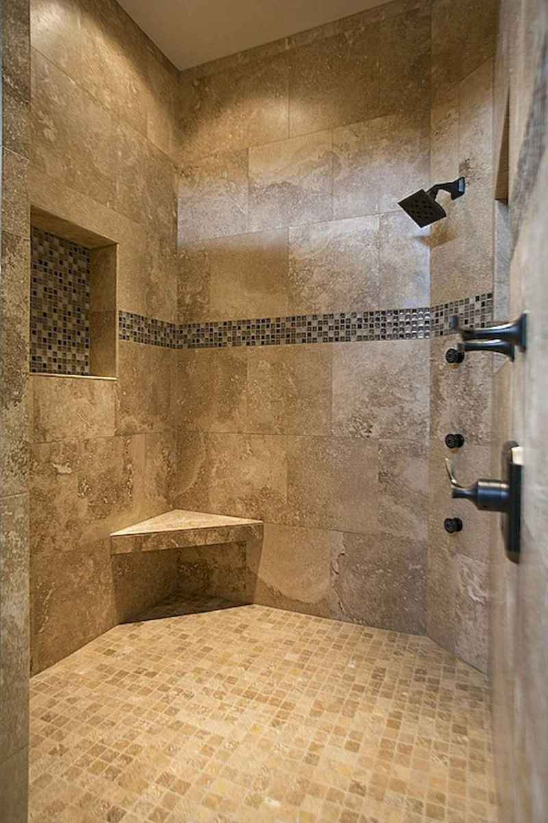 40 Beautiful Bathroom Shower Tile Design Ideas and Makeover (37)
