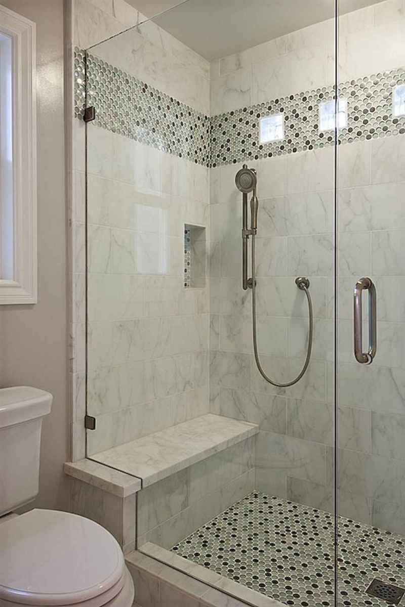 40 Beautiful Bathroom Shower Tile Design Ideas and Makeover (4)