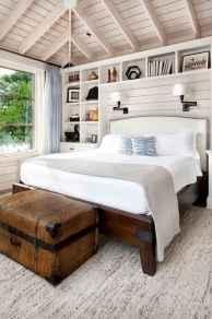 40 Modern Farmhouse Bedroom Decor Ideas and Makeover (22)