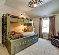 40 Modern Farmhouse Bedroom Decor Ideas and Makeover (24)