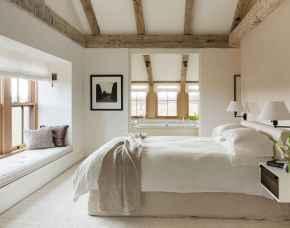 40 Modern Farmhouse Bedroom Decor Ideas and Makeover (30)
